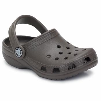 kengät Lapset Puukengät Crocs KIDS CLASSIC CAYMAN Chocolate