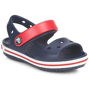 kengät Lapset Sandaalit ja avokkaat Crocs CROCBAND SANDAL Laivastonsininen / Red