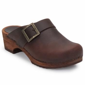 kengät Naiset Puukengät Sanita URBAN OPEN Brown