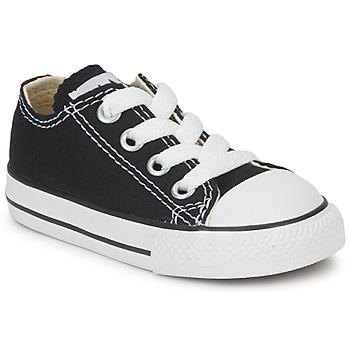 kengät Lapset Matalavartiset tennarit Converse ALL STAR OX Black