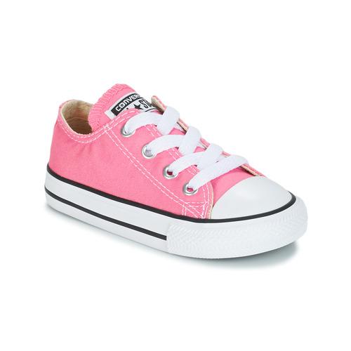 kengät Tytöt Matalavartiset tennarit Converse CHUCK TAYLOR ALL STAR CORE OX Pink