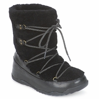 kengät Naiset Talvisaappaat FitFlop SUPERBLIZZ Black