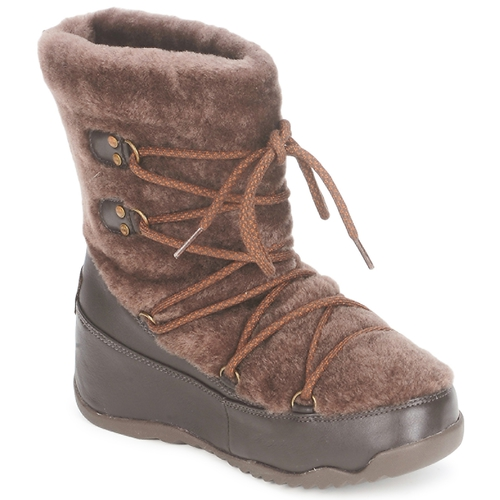 kengät Naiset Talvisaappaat FitFlop SUPERBLIZZ Chocolat