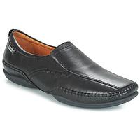 kengät Miehet Mokkasiinit Pikolinos MENS PUERTO RICO SLIP ON Black