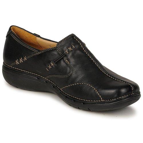 kengät Naiset Balleriinat Clarks UN LOOP Black