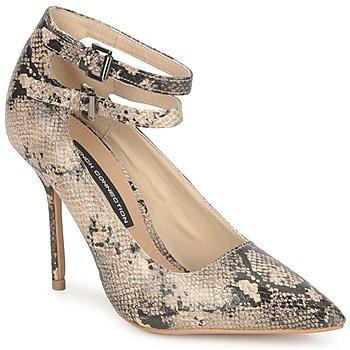 kengät Naiset Korkokengät French Connection JAMELIA Beige