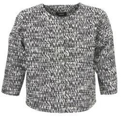vaatteet Naiset Takit / Bleiserit Mexx MX3002331 Black / White