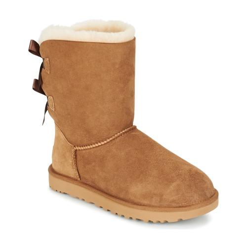 kengät Naiset Bootsit UGG BAILEY BOW II Beige