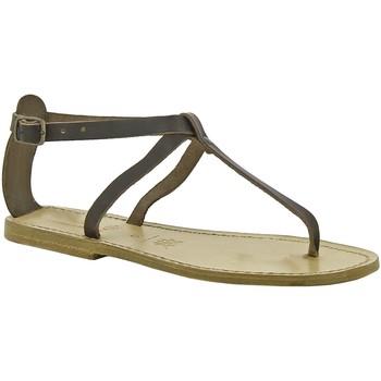 kengät Naiset Sandaalit ja avokkaat Gianluca - L'artigiano Del Cuoio 582 D MORO LGT-CUOIO Testa di Moro