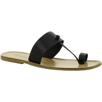kengät Naiset Sandaalit Gianluca - L'artigiano Del Cuoio 554 U NERO LGT-CUOIO nero