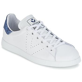 kengät Matalavartiset tennarit Victoria DEPORTIVO BASKET PIEL White / Blue