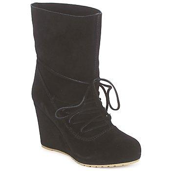 kengät Naiset Nilkkurit Chinese Laundry PENNY CROSSING Mokka  / Musta