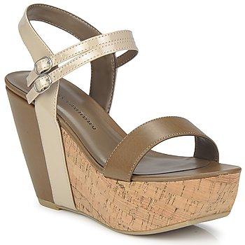 kengät Naiset Sandaalit ja avokkaat Chinese Laundry GO GETTER Taupe / Dk / Beige