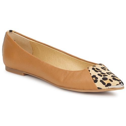 kengät Naiset Balleriinat Chinese Laundry EXTRA CREDIT Camel