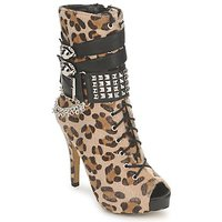 kengät Naiset Nilkkurit Abbey Dawn PLATFORM BOOTEE Leopardi