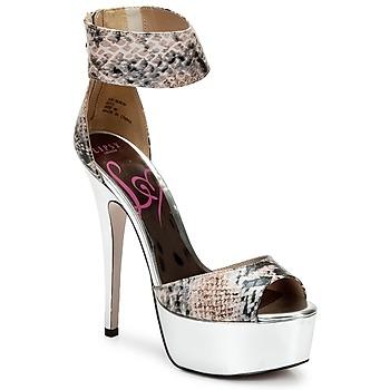 kengät Naiset Sandaalit ja avokkaat Lipsy KEISHA Luonto