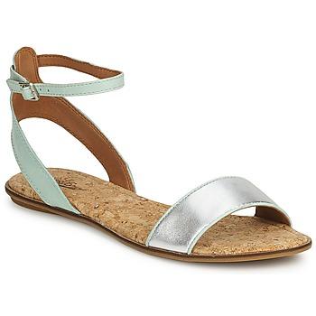 kengät Naiset Sandaalit ja avokkaat Lucky Brand COVELA Musta/indian magenta / Hopea