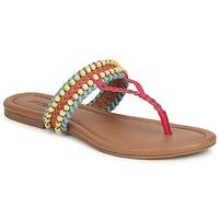 kengät Naiset Sandaalit ja avokkaat Lucky Brand DOLLIS Pimeä / Camel / Capri / Sininen