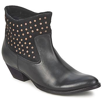kengät Naiset Nilkkurit Friis & Company DUBAI FLIC Black