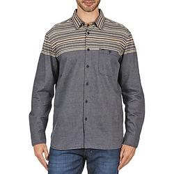 vaatteet Miehet Pitkähihainen paitapusero Element LENOX Grey