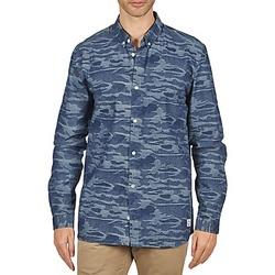 vaatteet Miehet Pitkähihainen paitapusero Suit ROD Blue