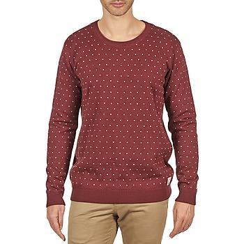vaatteet Miehet Neulepusero Suit PERRY Viininpunainen