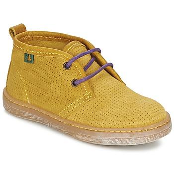 kengät Pojat Bootsit El Naturalista KEPINA Yellow
