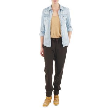 vaatteet Naiset Väljät housut / Haaremihousut Bensimon BRODY Brown