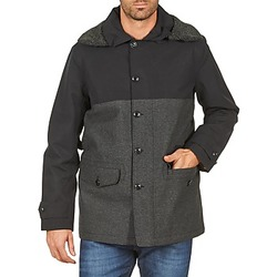 vaatteet Miehet Paksu takki Aigle SHERPAFIELD Black / Grey