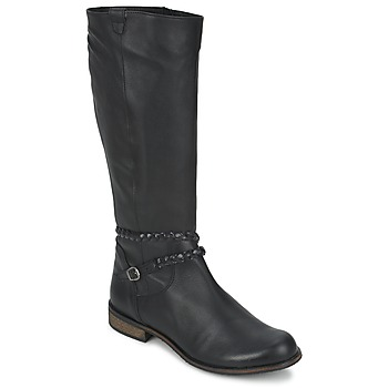 kengät Naiset Saappaat So Size BERTOU Black