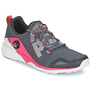 kengät Naiset Juoksukengät / Trail-kengät Reebok Sport REEBOK ZPUMP FUSION Grey / Pink