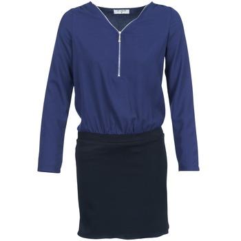 vaatteet Naiset Lyhyt mekko Betty London DEYLA Black / Laivastonsininen