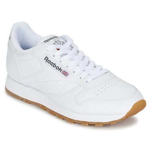 kengät Matalavartiset tennarit Reebok Classic CLASSIC LEATHER White