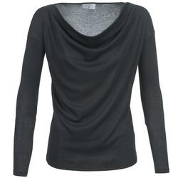 vaatteet Naiset T-paidat pitkillä hihoilla Casual Attitude DELINDA Black