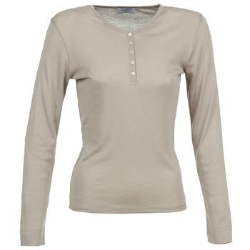 vaatteet Naiset T-paidat pitkillä hihoilla Casual Attitude DORINE TAUPE