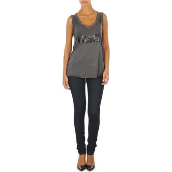 vaatteet Naiset Slim-farkut Diesel SKINZEE L.32 TROUSERS Blue