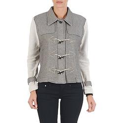 vaatteet Naiset Pusakka Diesel G-JAYA-A SWEAT-SHIRT Grey