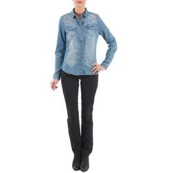 vaatteet Naiset Suorat farkut Diesel MYBOY TROUSERS Black