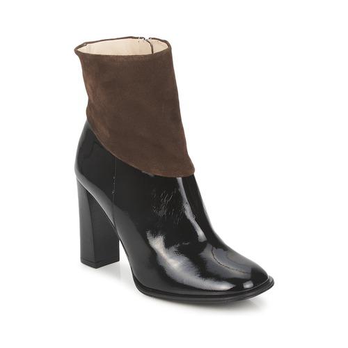 kengät Naiset Nilkkurit Paco Gil MERLOUNI Black / Brown