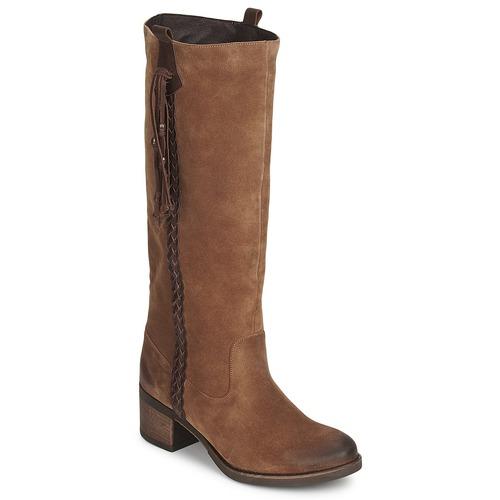 kengät Naiset Saappaat Betty London ELOANE Brown