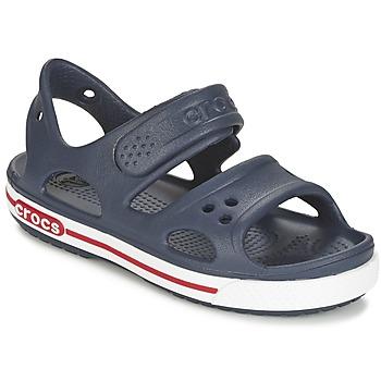 kengät Pojat Sandaalit ja avokkaat Crocs CROCBAND II SANDAL PS Laivastonsininen / White