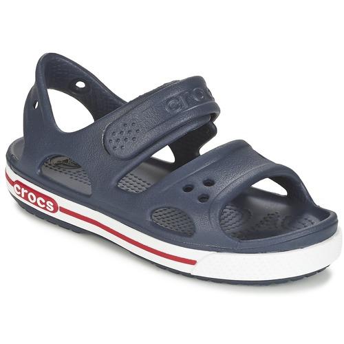 kengät Lapset Sandaalit ja avokkaat Crocs CROCBAND II SANDAL PS Laivastonsininen / White