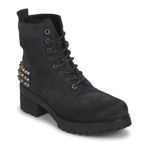 kengät Naiset Bootsit JFK SIMAIT Black