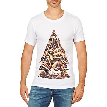 vaatteet Miehet Lyhythihainen t-paita Eleven Paris CITYGOD M MEN White