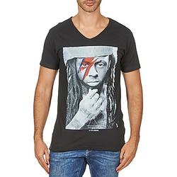 vaatteet Miehet Lyhythihainen t-paita Eleven Paris KAWAY M MEN Black