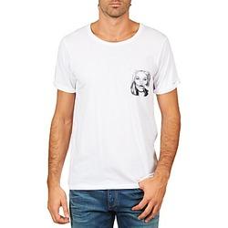 vaatteet Miehet Lyhythihainen t-paita Eleven Paris KMPOCK MEN White