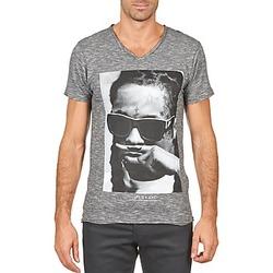 vaatteet Miehet Lyhythihainen t-paita Eleven Paris LILY M MEN Grey