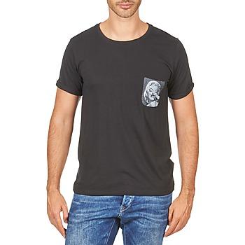 vaatteet Miehet Lyhythihainen t-paita Eleven Paris MARYLINPOCK MEN Black