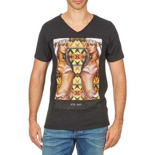 vaatteet Miehet Lyhythihainen t-paita Eleven Paris N35 M MEN Black