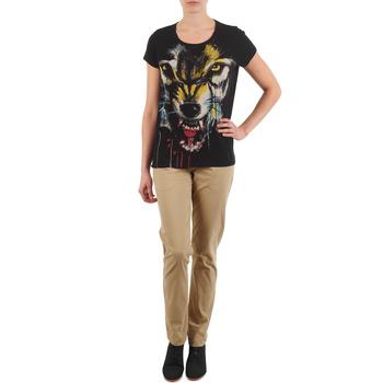 vaatteet Naiset Chino-housut / Porkkanahousut Eleven Paris PANDORE WOMEN Beige